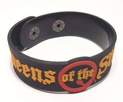 New Queen Of The Stone Age Rubber Bracelet Wristband Unisex Souvenirs Day Wb72
