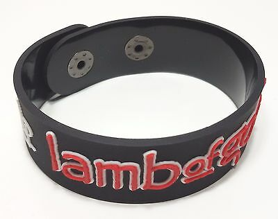 New Lamb Of God Rubber Bracelet Wristband Unisex Men Women Souvenirs Day Wb74