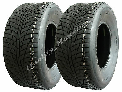 Two 25 x10.00-12 ATV quad tyres high speed road legal tyre buggy mower 25x10-12