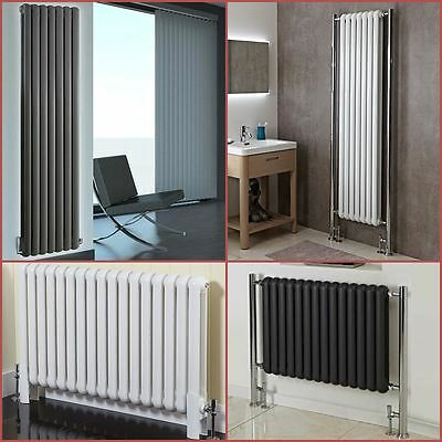 """Elias"" & ""Elias Maxi"" Traditional Multi Column Radiators White or Anthracite"