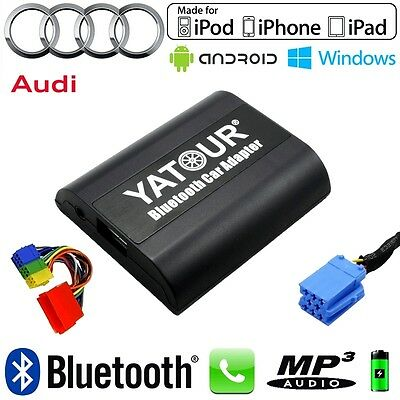Interface Kit mains libres Bluetooth et streaming audio AUDI 8pin Concert 2