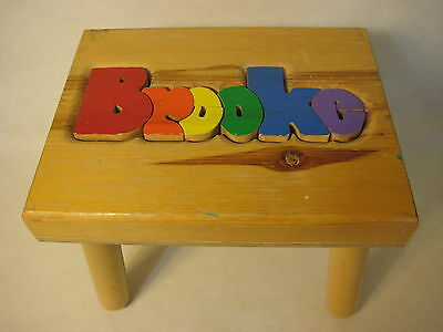 """Damhorst Toys Child's Wooden Puzzle Stool, 9"""" High X 11 3/4"""" Wide X 9"""" Deep"""