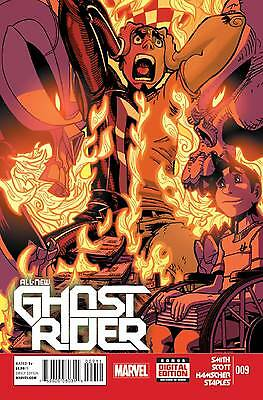 ALL NEW GHOST RIDER #9 (Marvel 2014 1st Print)