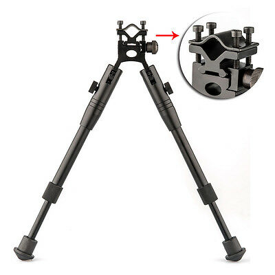 "New 8"" To 10"" Adjustable Spring Return Sniper Hunting Rifle Bipod Swivel Mount"