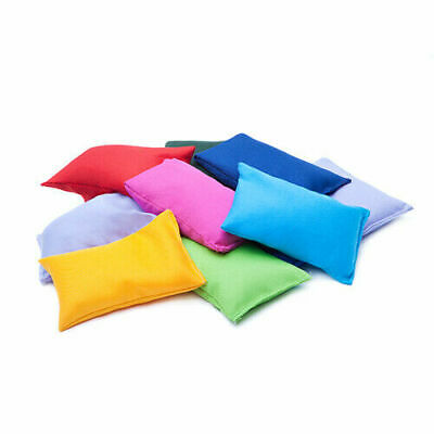 Colourful Sports Day Bean Bags Throwing Catching Play PE Garden Games Juggling