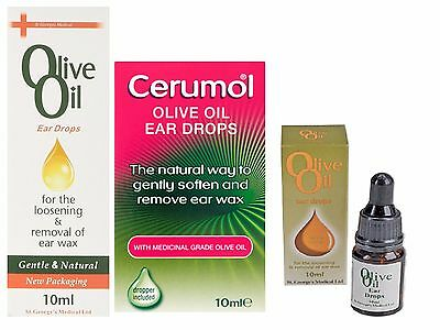 St Georges Olive Oil Ear Drops