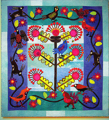 Earth & Twig - applique & embellishment quilt book - Sue Spargo