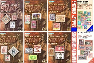 Standard Postage Stamps Catalogue - Eight Volumes - Dvd - Must For Collectors