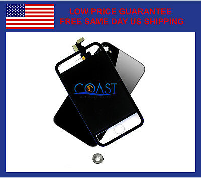 Full Conversion Kit For Iphone 4 W/lcd Digitizer & Back Panel - Transparent