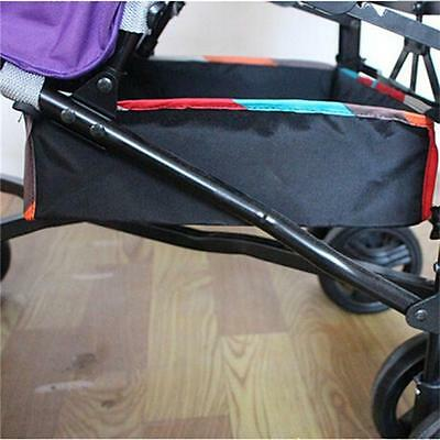 New Universal Baby Pram Basket Stroller Pushchair Organizer Storage Bag Buggy W