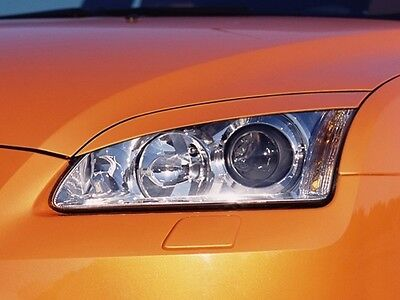 Headlight Brows Eyelids Eyebrows For The Ford Focus Mk2 11/04-2/08