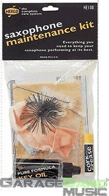 NEW Herco HE108 Saxophone Maintenance Cleaning Kit