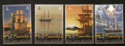 "Pitcairn Islands ""romantic Bounty"" Set + S/sheet Superb Mnh"