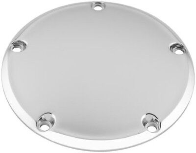 Bikers Choice Chrome Smooth 5 Hole Derby Domed Cover Harley Twin Cam 99-16 75961