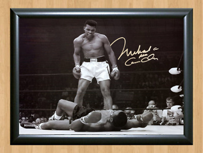 Muhammad Ali Autographed A4 Signed Print Poster Photo Picture Mohammad Boxing