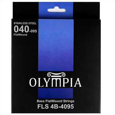 Olympia FlatWound Electric Bass Strings Gauge 45-100