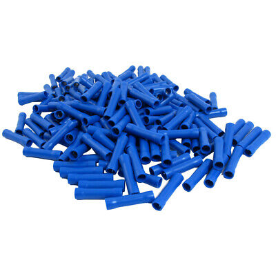 184pcs Electrical Wire Crimp Insulated Straight Connector Terminals