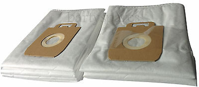 Ten Dust hoover Bags to fit Nilfisk Power Extreme P10 P20 P40 X100 X110 X150