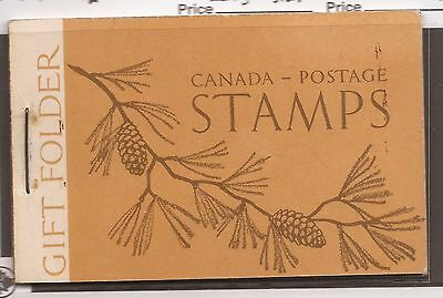 CANADA COMPLETE BOOKLET BK39a MINT VARIETY UNLISTED LARGE STAPLE