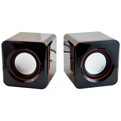 Sumvision Mini N-Cube USB 2.0 4W RMS Speakers - Shipped from Cork