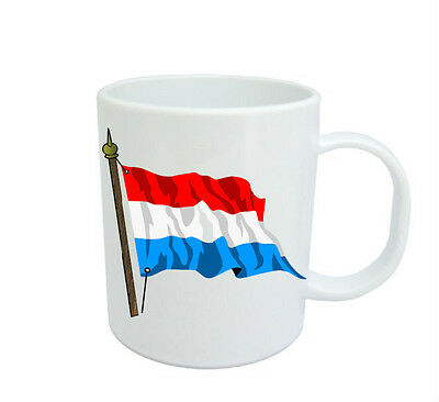 Luxembourg Flag  Coffee Mug Free Personalisation