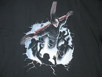 new FRIGHT RAGS THE EXORCIST III DAMIEN'S DESCENT MOVIE T-Shirt 3XL horror 80s