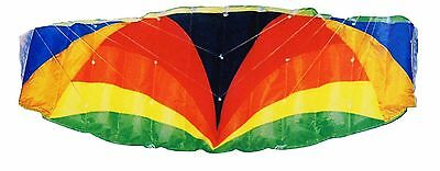 120cm Beach Parafoil Stunt Sport Kite Twin Dual Line Ready to Fly