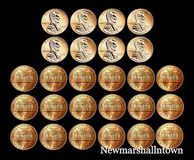 2000 2001 2002 2003 2004 2005 2006 2007 2008 2009 P+D Lincoln Mint Set Roll