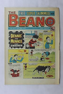 The Beano 1819 May 28th 1977 Vintage UK Comic Dennis The Menace Biffo The Bear