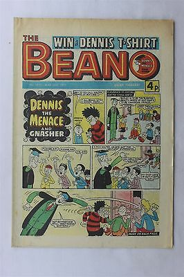 The Beano 1810 March 26th 1977 Vintage UK Comic Dennis The Menace Biffo Bear