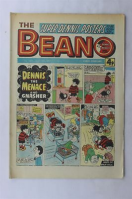 The Beano 1809 March 19th 1977 Vintage UK Comic Dennis The Menace Biffo Bear