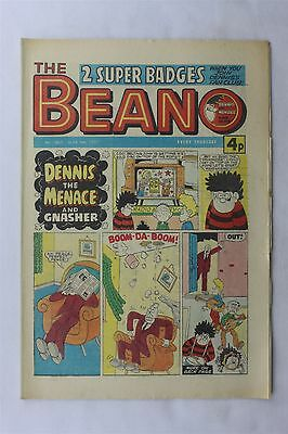 The Beano 1807 March 5th 1977 Vintage UK Comic Dennis The Menace Biffo The Bear