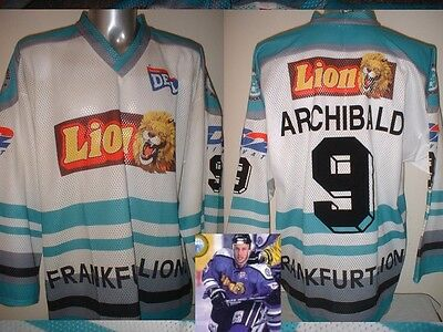 Frankfurt Lions ARCHIBALD XL Ice Hockey Shirt Jersey Trikot NHL Player Eishockey