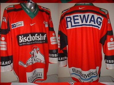 Regensburg Eisbären XL Ice Hockey Shirt Jersey Trikot NHL Eishockey Polar Bears