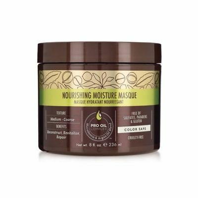 Macadamia Professional Nourishing Moisture Masque 236ml Hair Haircare Wash