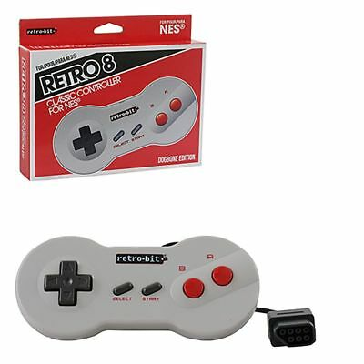 Retro-bit Wired Dogbone Shape Controller Cable For Nintendo Entertainment System