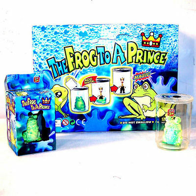12 MAGIC GROW FROG TO PRINCE growing royalty fairy tale new novelty fun fantasy