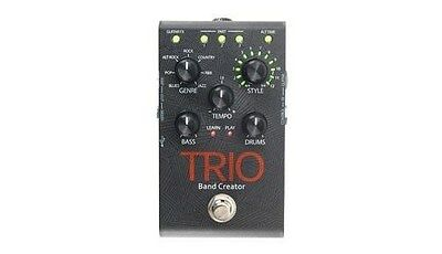 NEW - Digitech TRIO Band Creator Guitar Effects Pedal