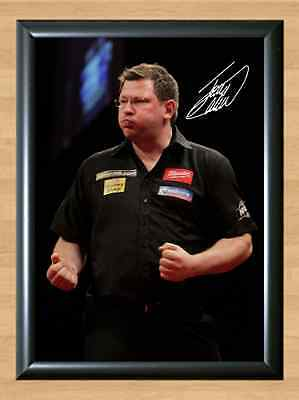 James Wade Darts Signed Autographed A4 Poster Photo Print Photograph Pub Wall
