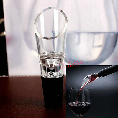 New Rotate Magic Red Wine Aerator Pourer Decanter Enhancing Flavor Tools