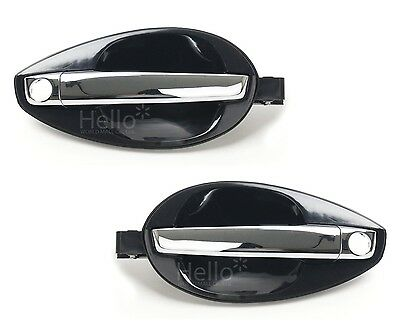 OEM Outside Door Handle Catch CHROME UNPAINTED For 03 - 08 HYUNDAI Tiburon Coupe