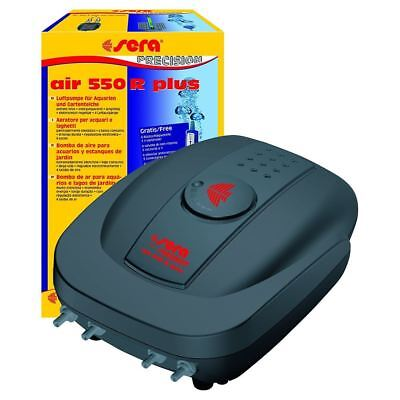 Sera Precision Air 550 R Plus Aquarium Fish Tank/Pond Air Pump (550 l/h)