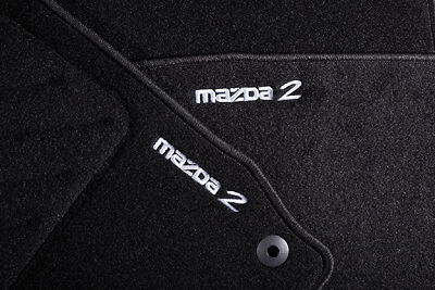 Genuine Mazda 2 DE Car Mats DF80V0320B Models From 08/2010 to 2015