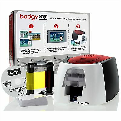 Badgy 200 ID Card Printing Machine - Print ID Cards in Full Colour. ID Cards