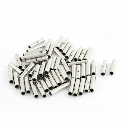 60pcs BN1-1 22-16 AWG Tubular Design Non-insulated Connectors Cable Adapter