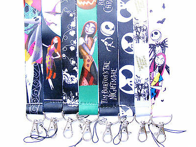 Lot Mix The nightmare before Christmas Lanyards Mobile Phone,ID Card,Key Y135