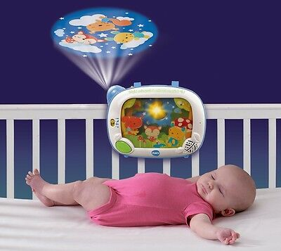 Crib Soother Music 65 Lullabies Night Light Projector
