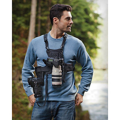 SALE SALE SALE DUALCamera Vest for All Camera Types-Side Holster Nikon, Canon