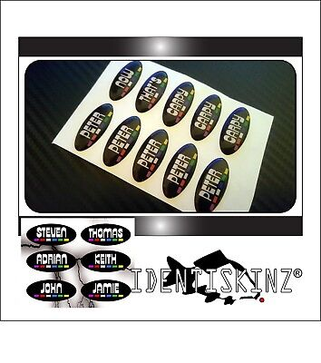 Personalised domed stickers decal set of 5 for the delkim txi std ev alarms