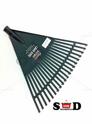 Lawn Rake Head Plastic Victory Rakes Collecting Leaves Grass Cuttings  PA204H